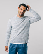 Mouline Blue Sweater
