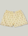 Brava Fabrics - Man Printed Boxer - Man Underwear - 100% Cotton - Banana Split Boxer