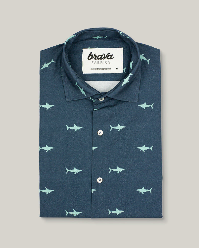 Sharks Printed Shirt