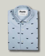 Northern Raccoon Printed Shirt