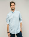 Brava Fabrics - Men's Shirt - Men's Casual Shirt - Men's Shirt - 100% Cotton - Model Japanese Wave