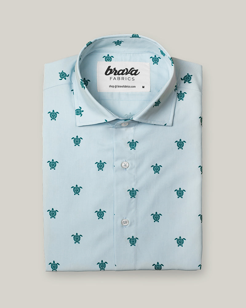 Turtle with Love Printed Shirt