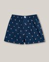 Brava Fabrics - Man Printed Boxer - Man Underwear - 100% Cotton - Fox In The Snow Boxer