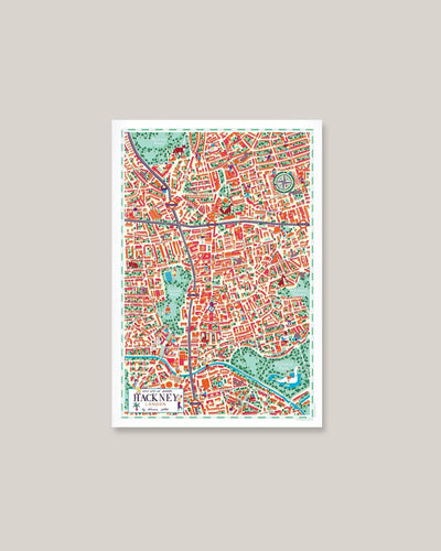 Walk With Me - Map - Hackney