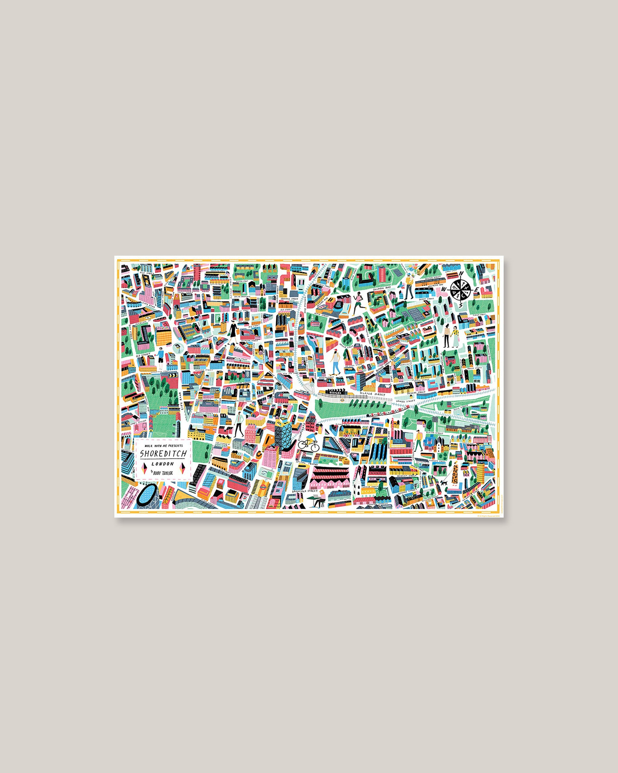 Map - Shoreditch
