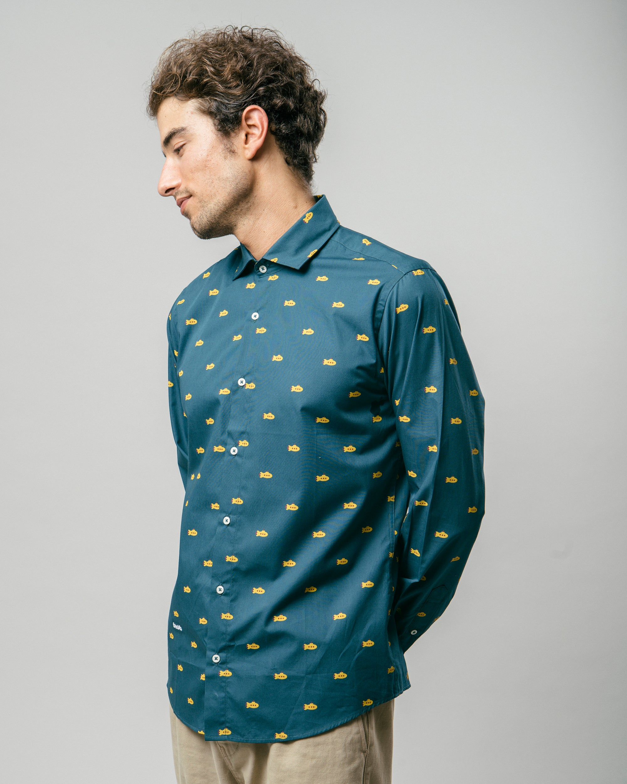 Yellow Submarine Printed Shirt