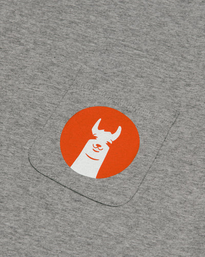 Brava Fabrics - Men's T-Shirt - Men's Tee - Cotton Tee for Men - 100% Cotton - Model Llama Llama