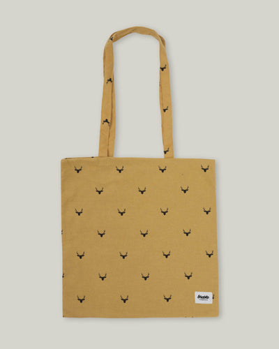 Brava Fabrics - Upcycled Totebag - Sustainable Totebag - Cotton Bag - 100% Cotton - Model Copenhagen Deer