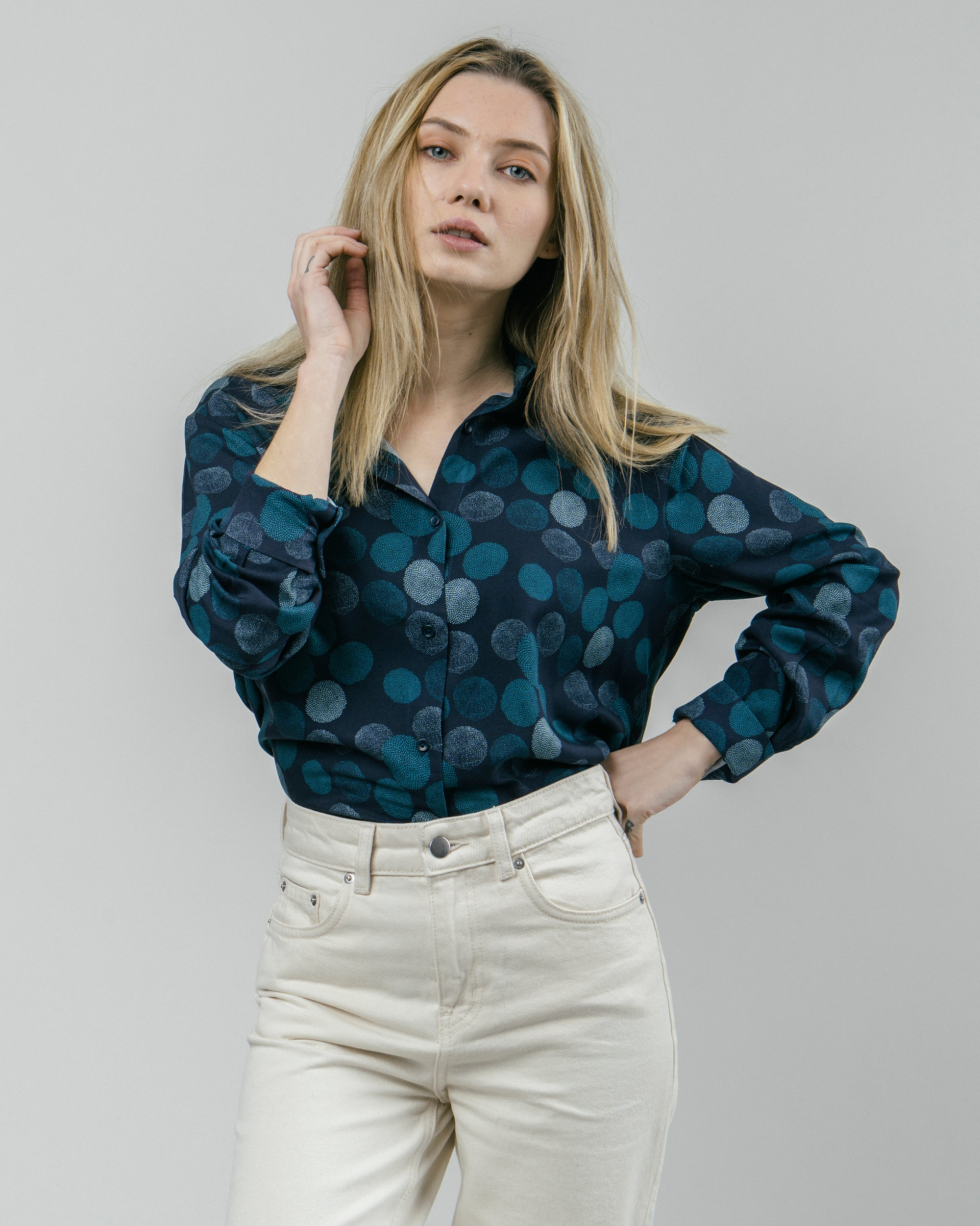 Hana Bloom Printed Blouse