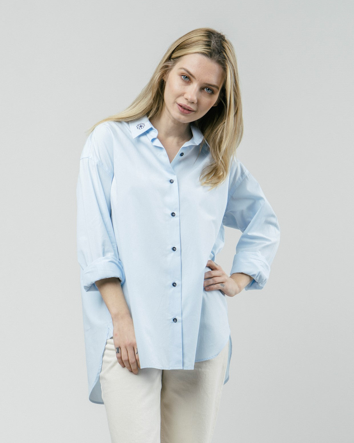 Tile Essential Oversized Blouse