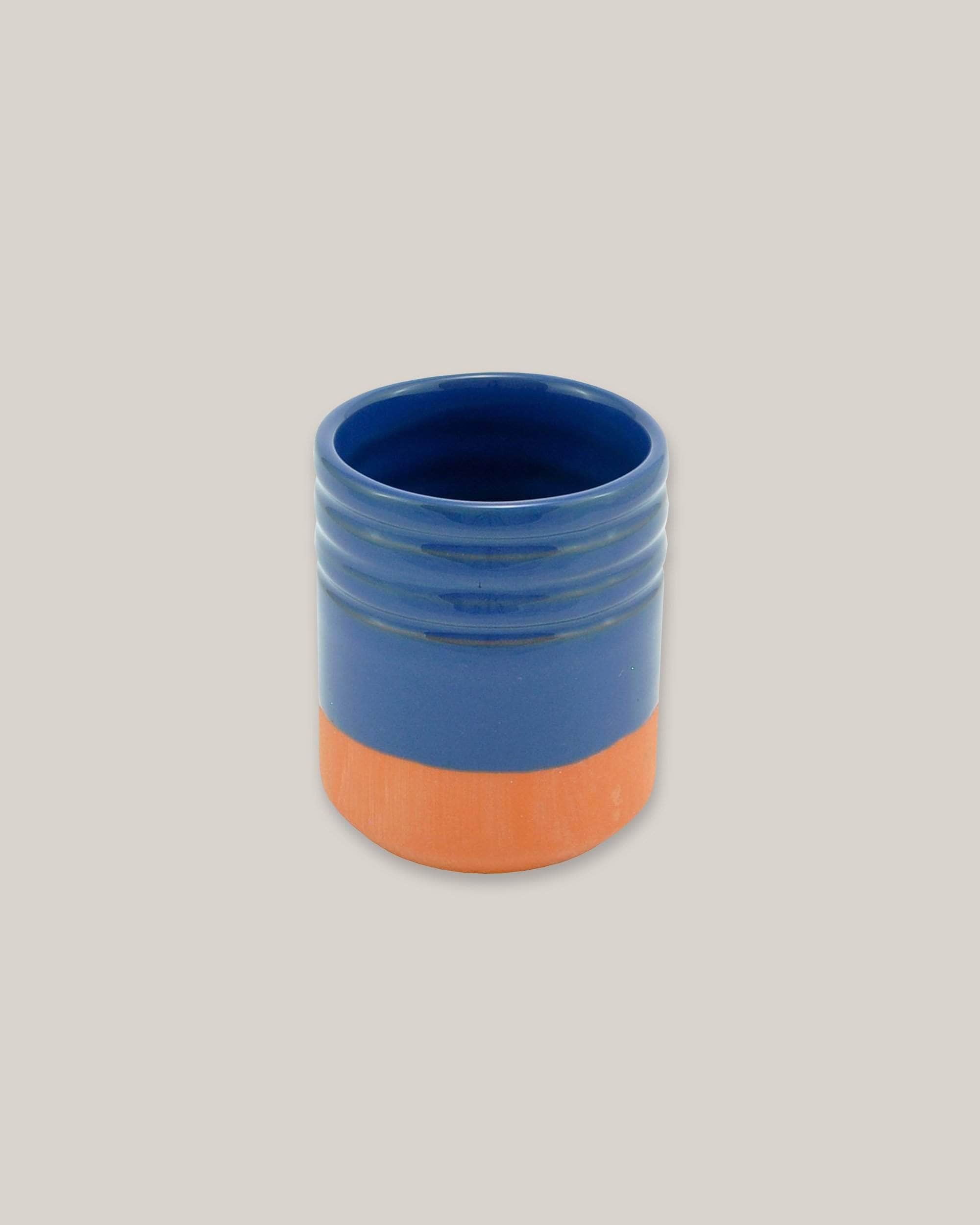 Clay Pot Blue