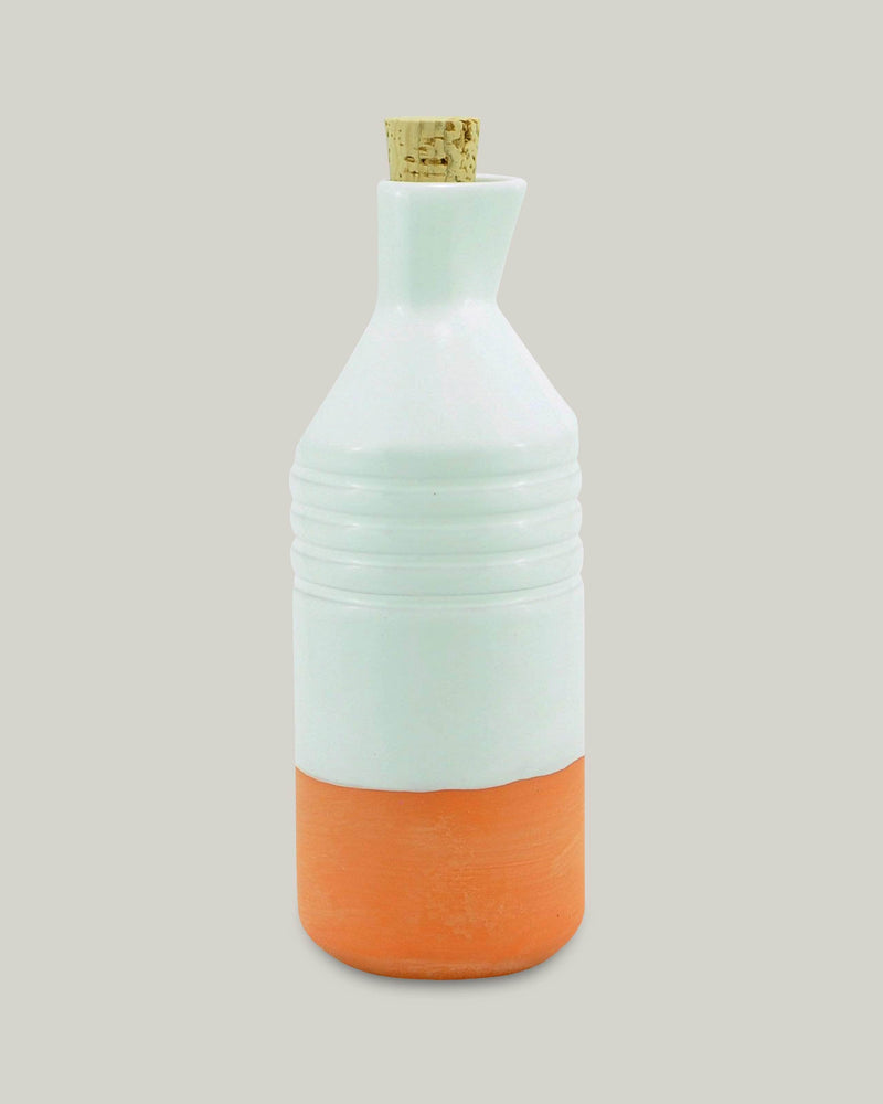 Clay Bottle White