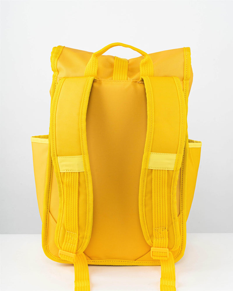 Rolltop Backpack Yellow