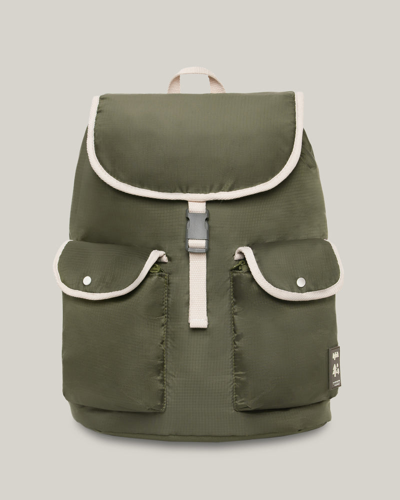 Backpack Knapsack Olive Green