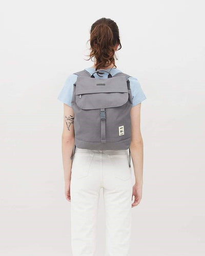Lefrik - Backpack Scout Grey - Sustainable Backpack