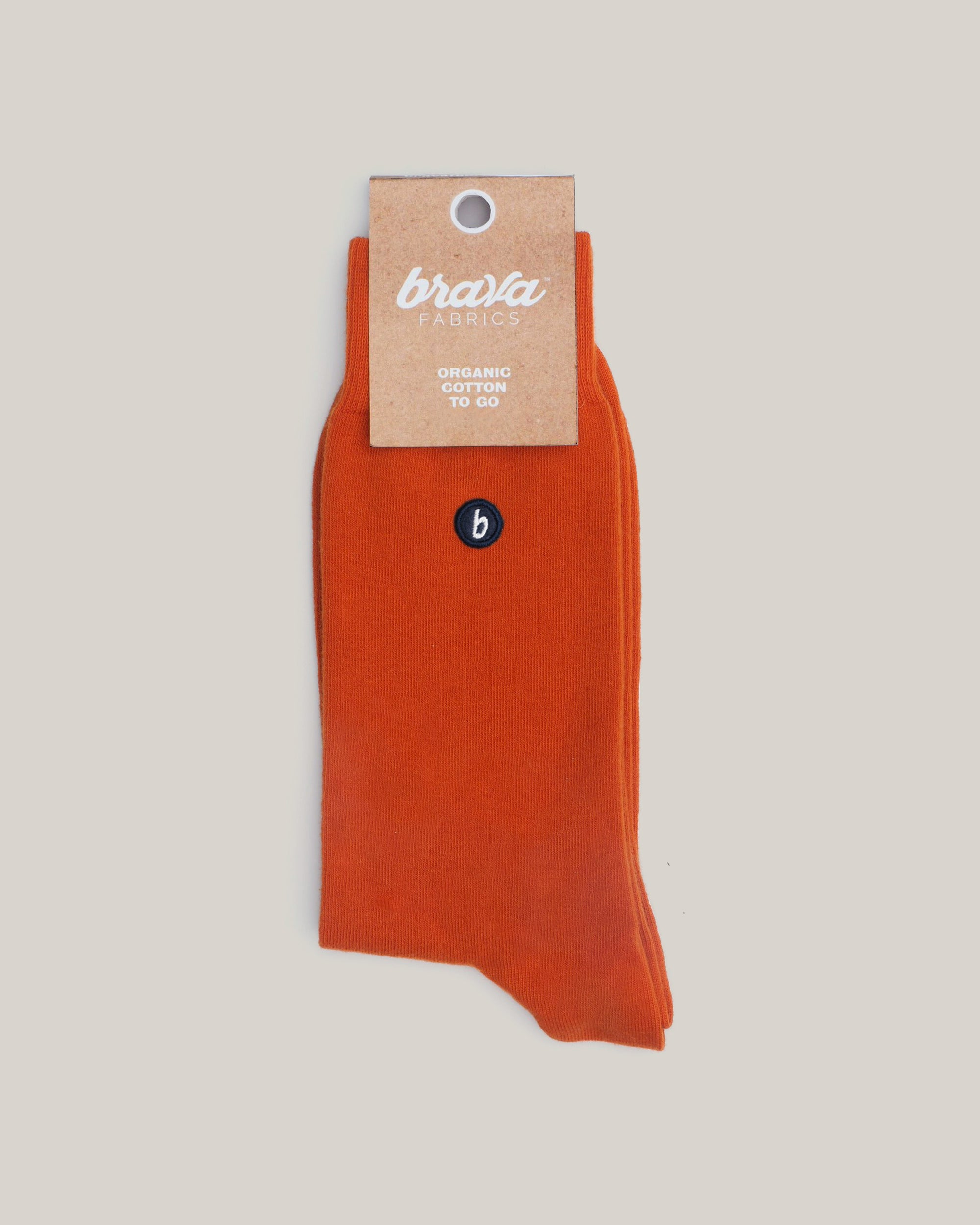Organic Cotton Socks Orange