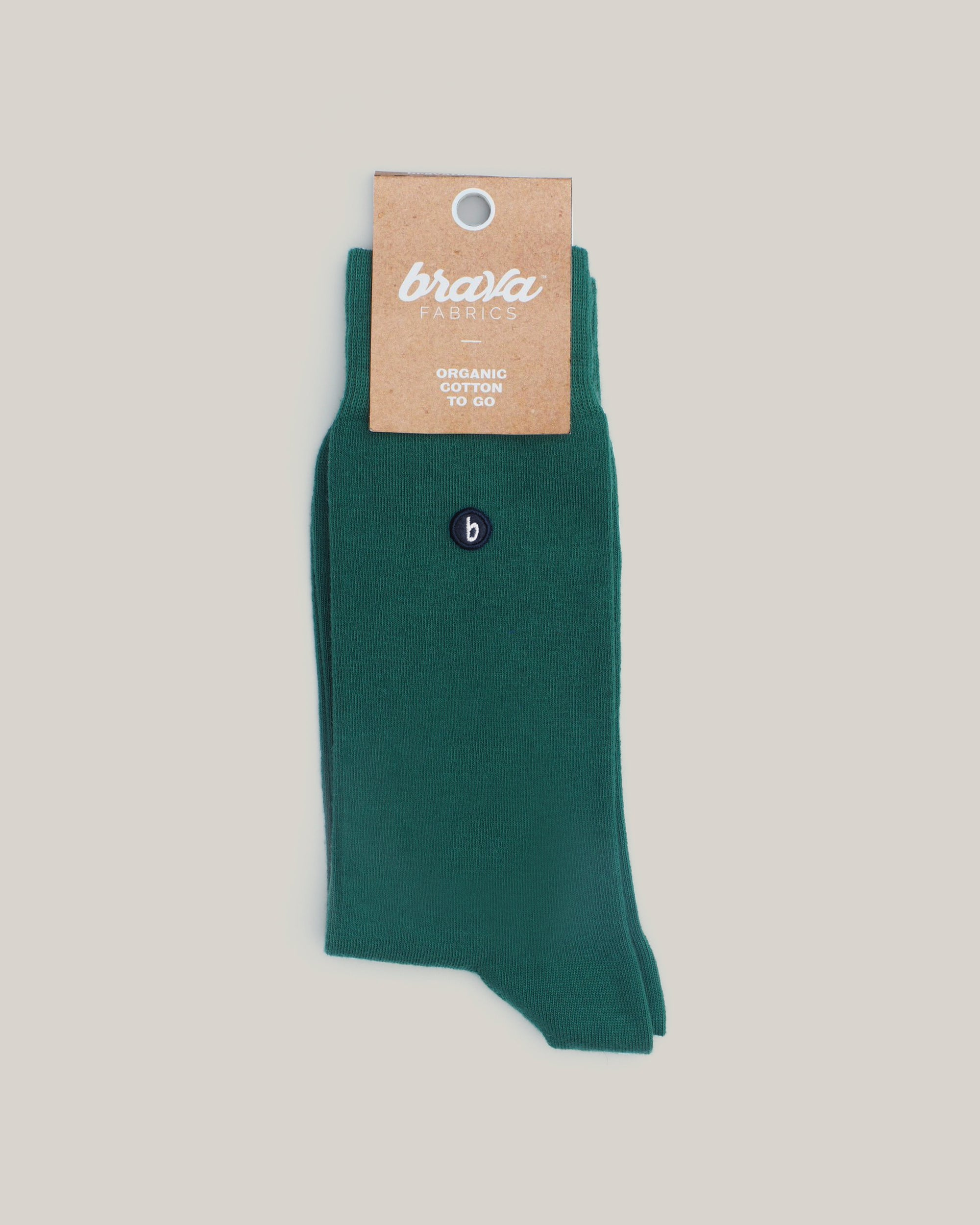 Organic Cotton Socks Green