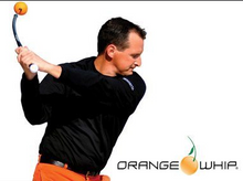 Load image into Gallery viewer, Orange Whip Swing Trainer