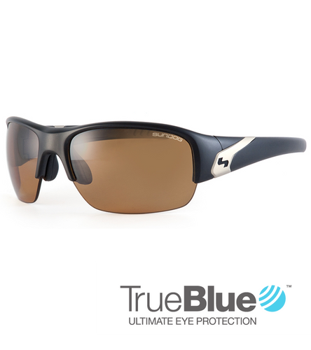 SunDog Bent 'True Blue' Lens Sunglasses