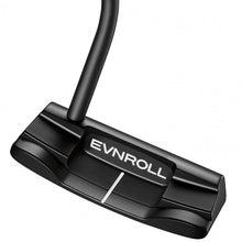 Load image into Gallery viewer, EVNROLL ER2 Mid Blade Black Putter