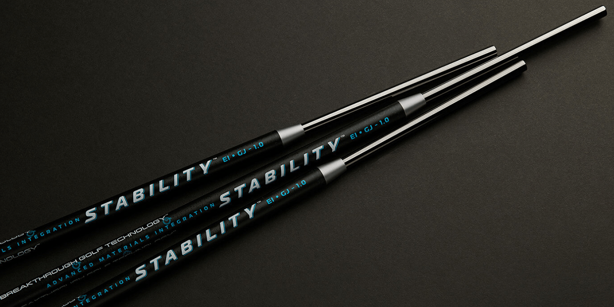 breakthrough golf technology stability custom built putter shaft