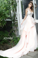 Load image into Gallery viewer, Blush Embroidered Bodice Wedding Gown JB65929 - Marleighz