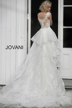 Load image into Gallery viewer, Off White Floral Embroidered Wedding Dress JB68165 - Marleighz