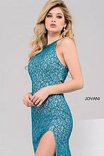 Load image into Gallery viewer, Lace Sleeveless Fitted Prom Dress 46850 - Marleighz
