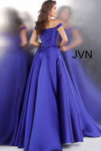 Load image into Gallery viewer, Purple off the Shoulder Bridesmaid dress JVN62743 - Marleighz