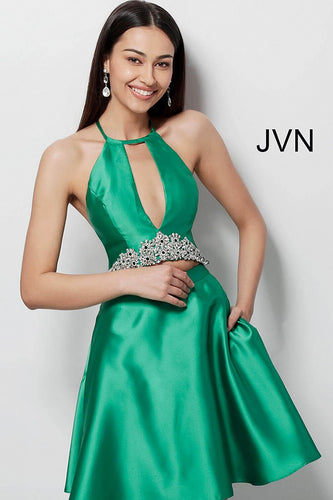 Emerald Two Piece Fit and Flare Homecoming Dress JVN63123 - Marleighz