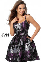 Load image into Gallery viewer, Multi Color Fit and Flare Homecoming Dress JVN63386 - Marleighz