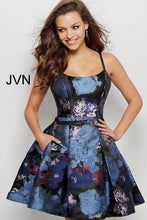 Load image into Gallery viewer, Multi Fit and Flare Pleated Skirt Cocktail Dress JVN63389 - Marleighz