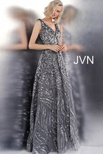 Load image into Gallery viewer, Sleeveless V Neck Embellished Prom Ballgown JVN66727 - Marleighz