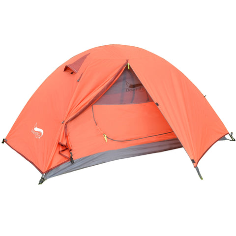 Lightweight Backpacking Camping Tent 1-3 Person