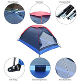 Economy 2 Person Tent for Beach & Camping