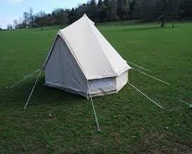 Canvas Bell Tent 4 Season 2 Person