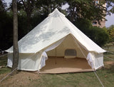 Cotton Canvas Bell Glamping Camping Tents