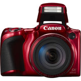 Canon PowerShot SX420 IS Digital Camera (Red)