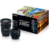 Advanced Two Lens Kit with 50mm f/1.4 and 17-40mm f/4L Lenses