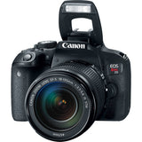 EOS Rebel T7i DSLR Camera with 18-135mm Lens