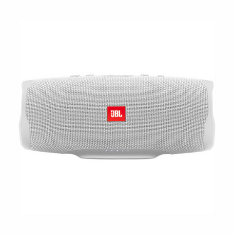JBL Charge 4 Portable Bluetooth Speaker (White)