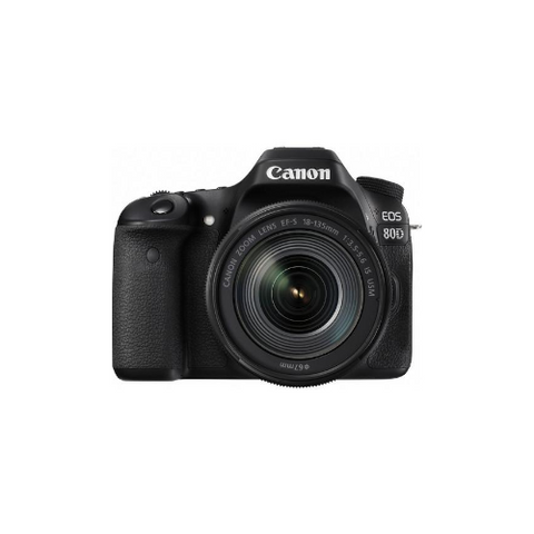 EOS 80D DSLR Camera with 18-135mm Lens