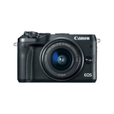 EOS M6 Mirrorless Digital Camera with 15-45mm Lens (Black)