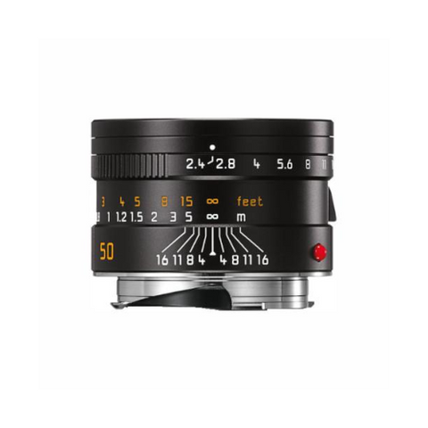 Leica Summarit-M 50mm f/2.4 Lens Black