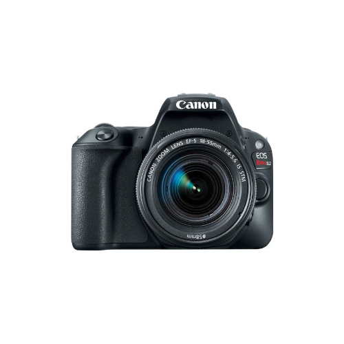 EOS Rebel SL2 DSLR Camera with EF-S 18-55mm f/4 STM Lens (Black)