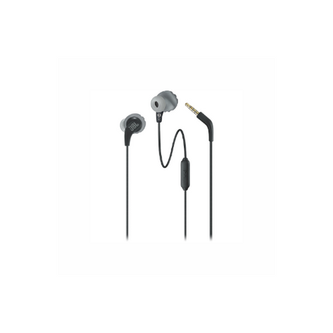 JBL Endurance RUN Sweatproof Wired Sports In-Ear Headphones (Black)