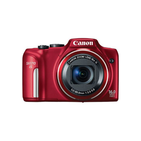 PowerShot SX170 Digital Camera (Red)