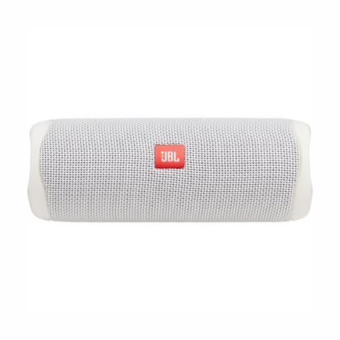 JBL Flip 5 Waterproof Bluetooth Speaker (Steel White)