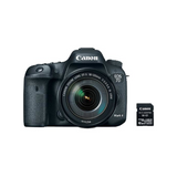 EOS 7D Mark II DSLR Camera with 18-135mm f/3.5-5.6 IS USM Lens and W-E1 Wi-Fi Adapter