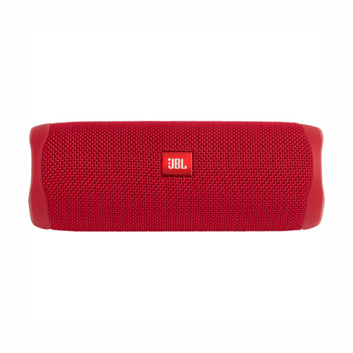 JBL Flip 5 Waterproof Bluetooth Speaker (Fiesta Red)